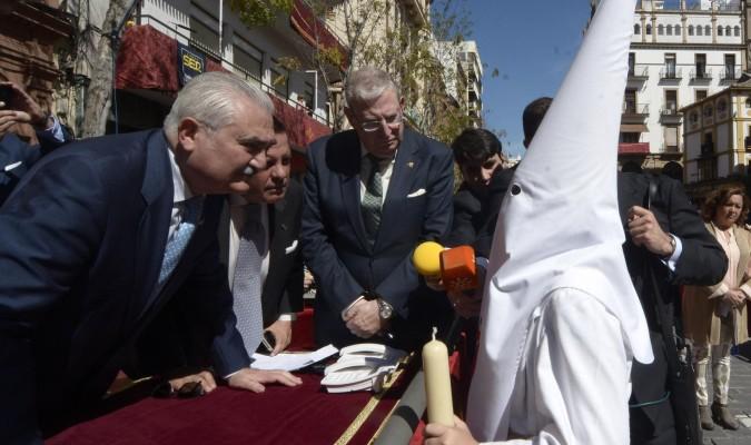 La Borriquita: el niño Rafael Molina pedirá la primera venia