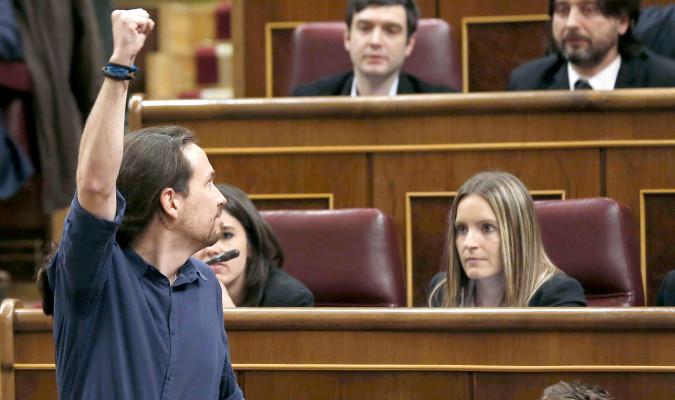 Iglesias ve el acuerdo psoe pp ciudadanos una l nea roja for Acuerdo de gobierno psoe ciudadanos
