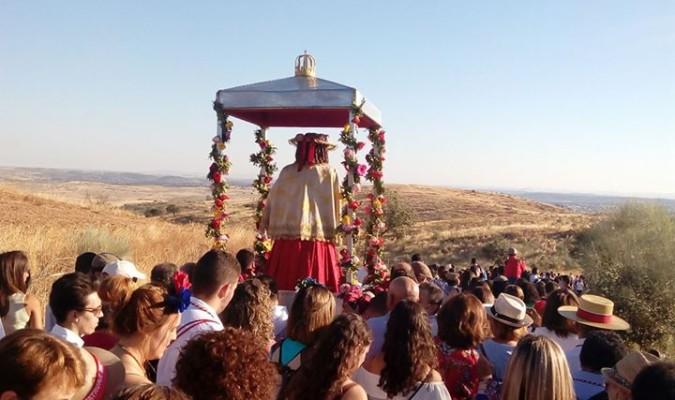 Un momento de la romería de Nuestra Señora de Guaditoca.   El Correo f09f166c740