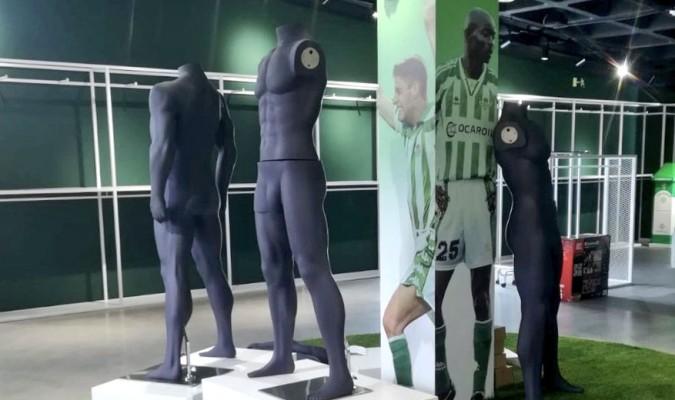 75f1d860b La nueva tienda recuerda antiguos uniformes del Betis con Kappa / Disan  Limpiezas