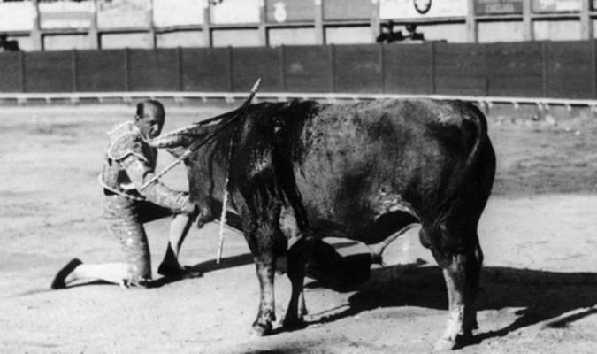 Sánchez Mejías reapareció en la desaparecida plaza de Cádiz un mes antes de su muerte. / Foto: Archivo A.R.M.