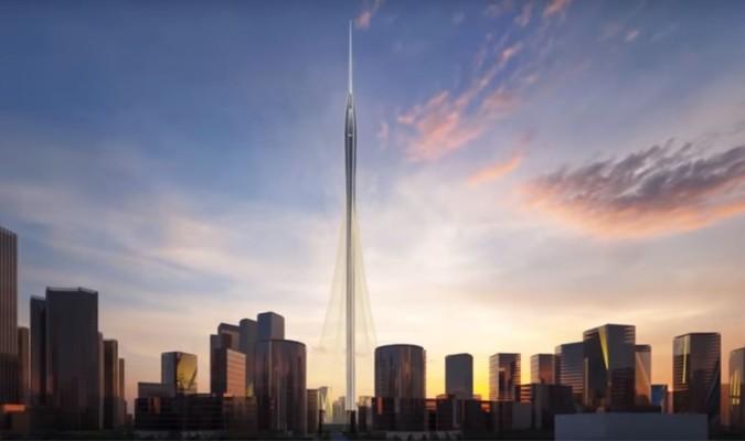 el diseo de calatrava para la torre ms alta del mundo que se levantar en