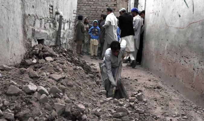 Resultado de imagen de afganistan escombros