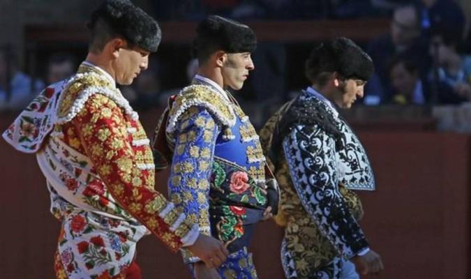 Manzanares, Talavante y Morante. / El Correo