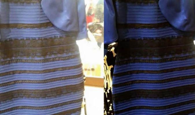 Kleid Schwarz Blau Erklärung