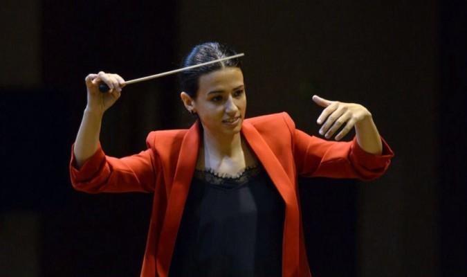 Amadora Mercado es la nueva directora musical de la Oliva de Salteras.