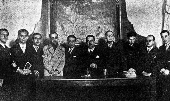 Los poetas de la generación del 27 se reunieron en Sevilla a raíz de la conmemoración del III centenario de la muerte de Luis de Góngora bajo el mecenazgo de Ignacio Sánchez Mejías, que los llevó a Pino Montano. / Efe
