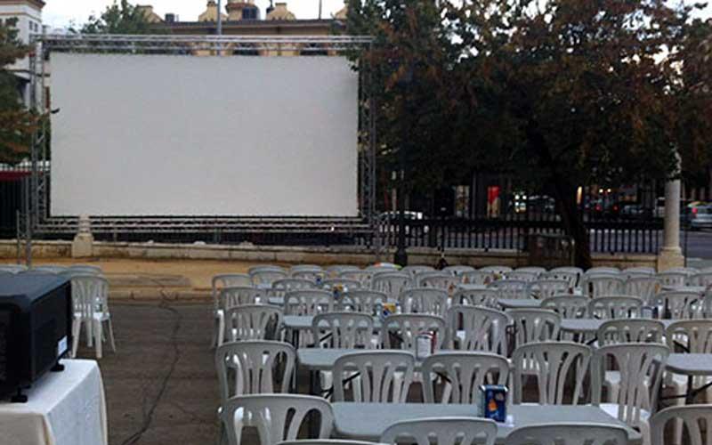 Se Suspende El Cine De Verano Del Parque De María Luisa
