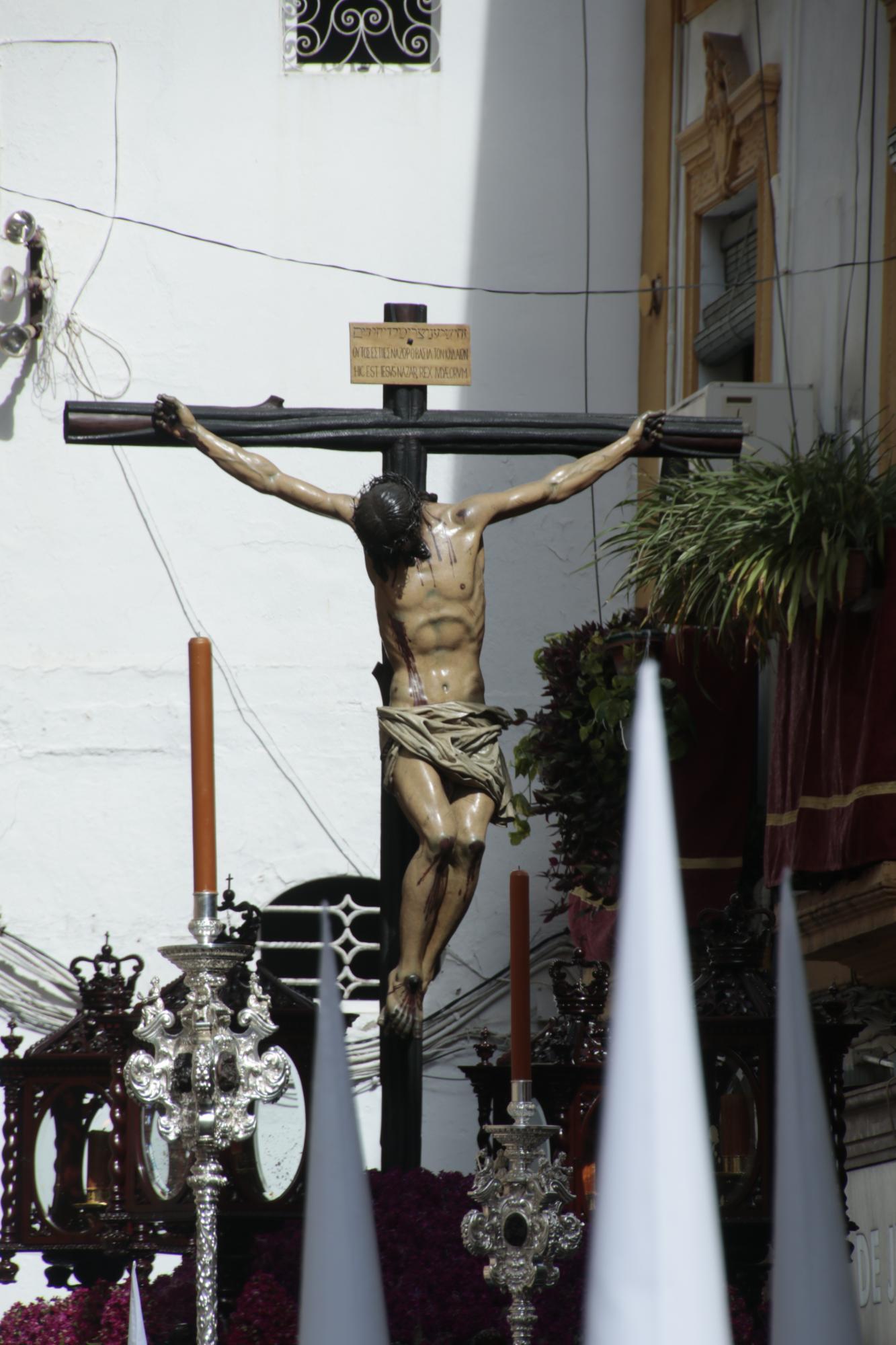 El cabildo respalda la salida extraordinaria del Cristo de la Fundación 1