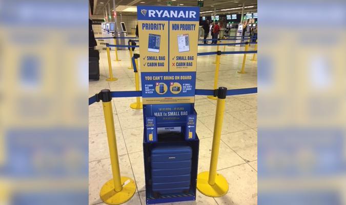 tienda oficial Venta barata calidad asombrosa Ryanair pone en marcha su nueva política de equipajes