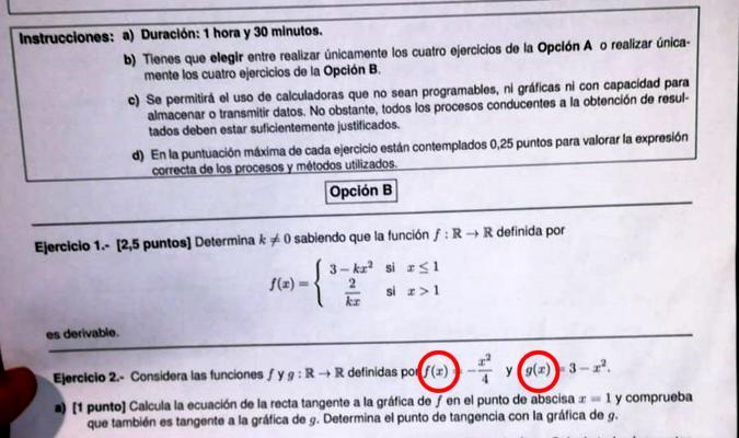 Piden El Apoyo Masivo En Change Org Para Impugnar El Examen De Matematicas De Selectividad
