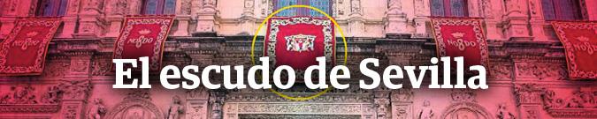 El escudo de Sevilla
