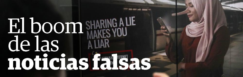 El boom de las noticias falsas