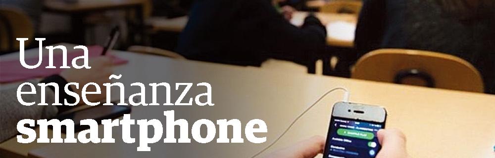 Una enseñanza smartphone