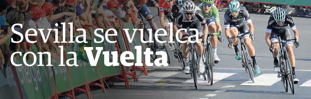 Sevilla se vuelca con la Vuelta
