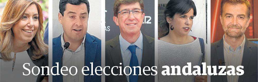 Sondeo elecciones andaluzas