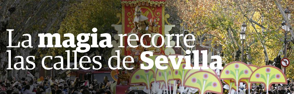 La magia recorre las calles de Sevilla