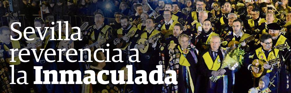 Sevilla reverencia a la Inmaculada