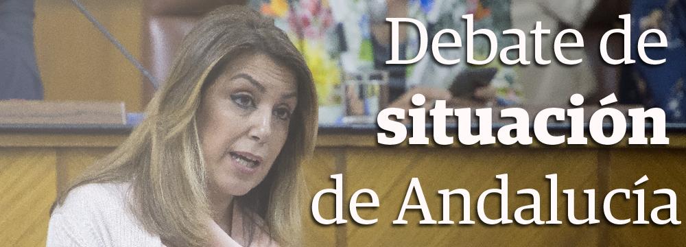 Debate de situación de Andalucía