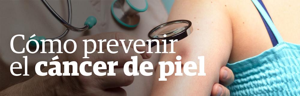 Cómo prevenir el cáncer de piel