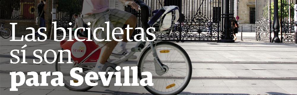 Las bicicletas sí son para Sevilla