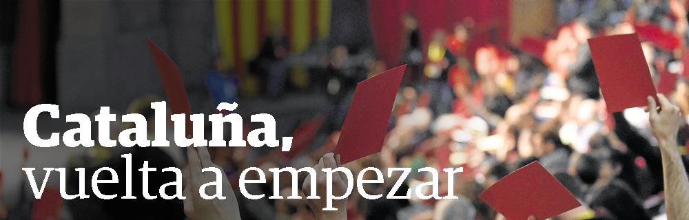 Cataluña, vuelta a empezar