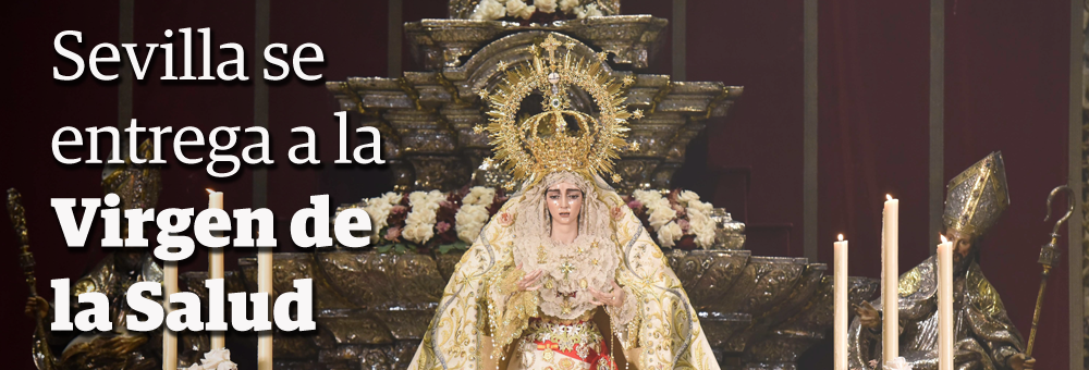 Coronación de la Virgen de la Salud
