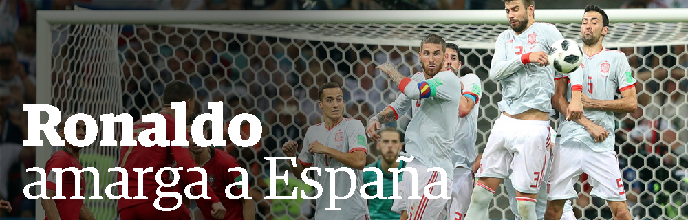 Ronaldo amarga a España