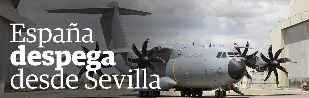 España despega desde Sevilla