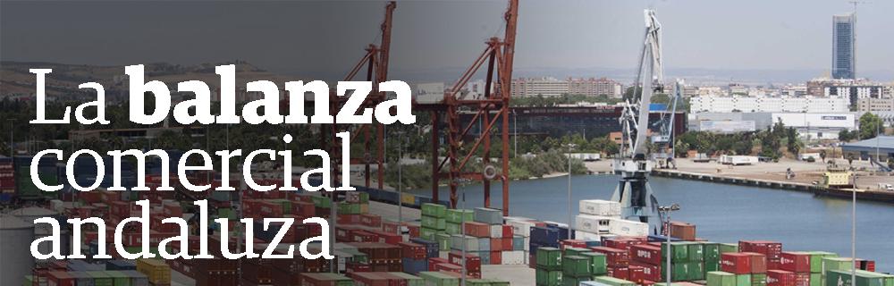 La balanza comercial andaluza