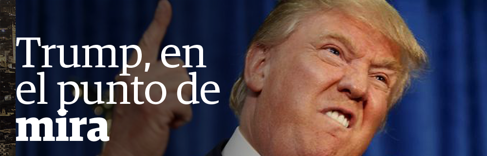 """Trump,"