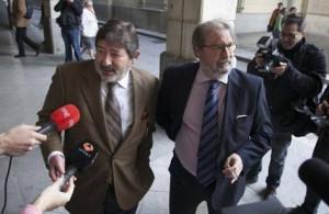 Guerrero en los juzgados de sevilla con su abogado