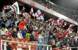 La afición del Sevilla se prepara.