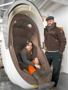 Mercedes Eirín y Antonio J. Pérez son los impulsores de la firma sevillana Planeta Edriel. J. M. Espino (Atese)