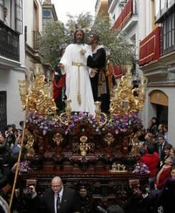 Paso de Misterio de La Redención. Estefanía González (Atese).