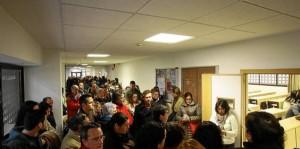Las últimas convocatorias de oposiciones a profesor en Andalucía no han contado con menos de 30.000 aspirantes.