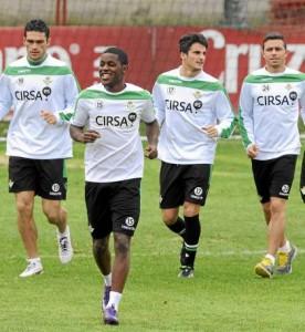 Molina, Campbell, Juan Carlos y Rubén. (KIKO HURTADO/MARCAMEDIA)