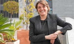 La consejera de Fomento, Elena Cortés, de Izquierda Unida. / J.M. Espino