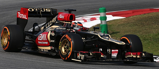 Kimi Raikkonen lidera el mundial con su Lotus.