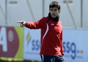 Perotti en un entrenamiento. (Marcamedia).