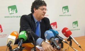 El vicepresidente de la Junta y coordinador general de IULV-CA,  Diego Valderas
