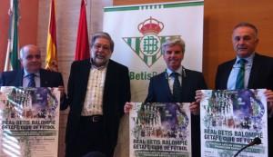 Presentación de la campaña del Betis para los pueblos de la provincia de Sevilla