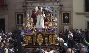 Jesús Despojado salía el Domingo de Ramos. Estefanía González (Atese)