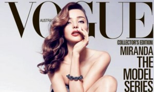 Miranda Kerr en la portada de Vogue.