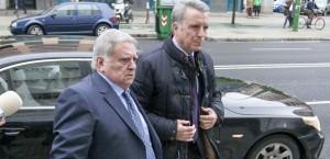 Ortega cano a su llegada a los Tribunales de Sevilla, el martes 19 de marzo.