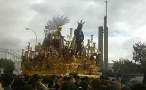 Salida del paso del Cautivo de San Pablo