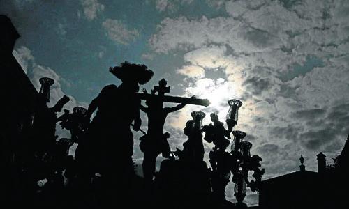 La Lanzada en la Semana Santa del pasado año