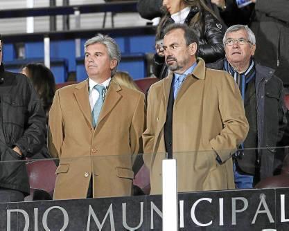 Ángel Torres, con Miguel Guillén. (Marcamedia)