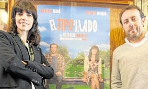 ´Maribel Verdú yAntonio Molero, ayer en la rueda de prensa en el Lope de Vega.