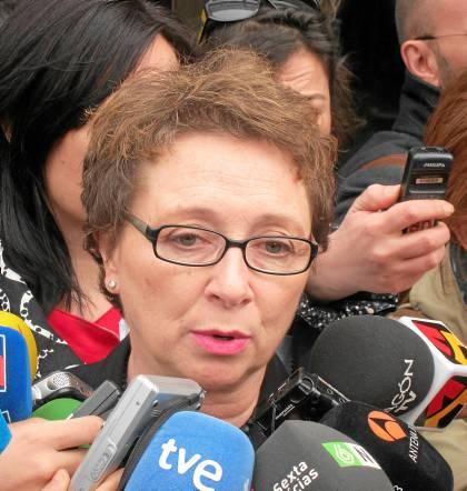 La consejera de Hacienda, Carmen Martínez Aguayo.
